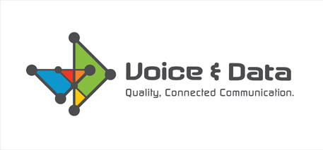 Logo Design - Voice and Data Logo