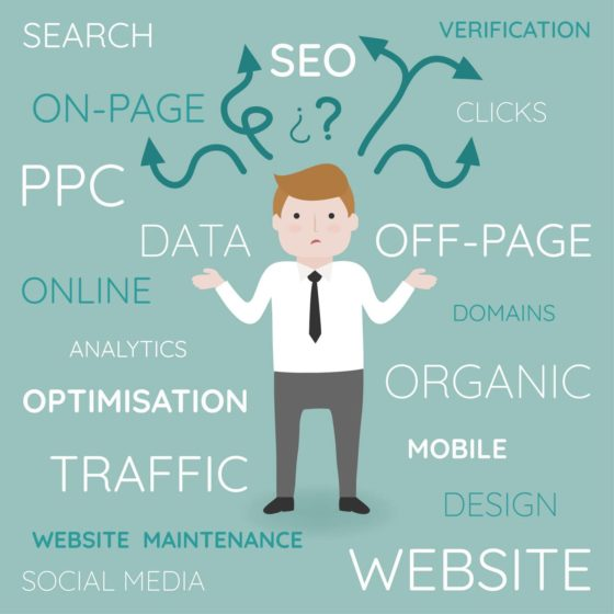 Websites and SEO - Get your website onto Google's first page