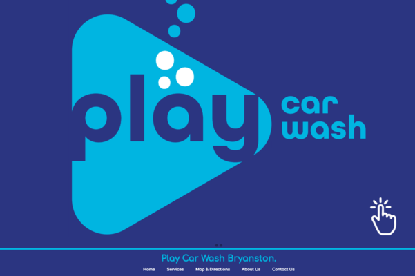 Website Design Portfolio - Play Car Wash Bryanston